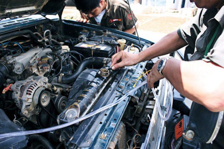 Sửa xe BMW 520 khi không khởi động được