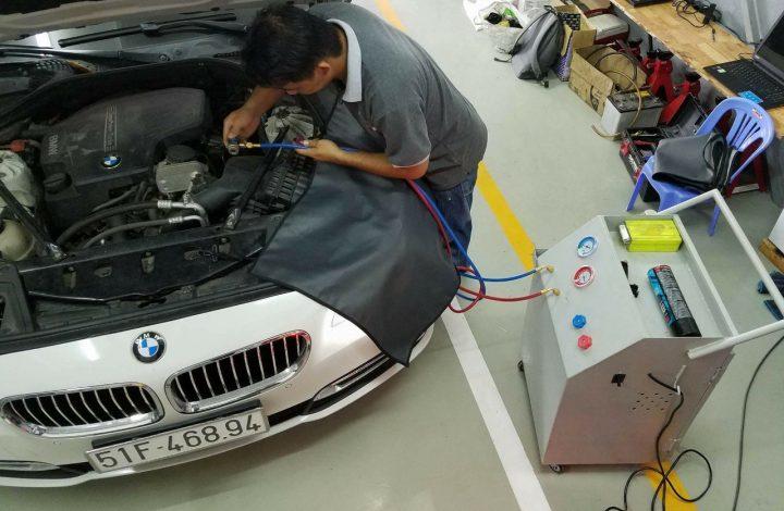 Trung tâm bảo hành BMW 520 quận Bình Thạnh