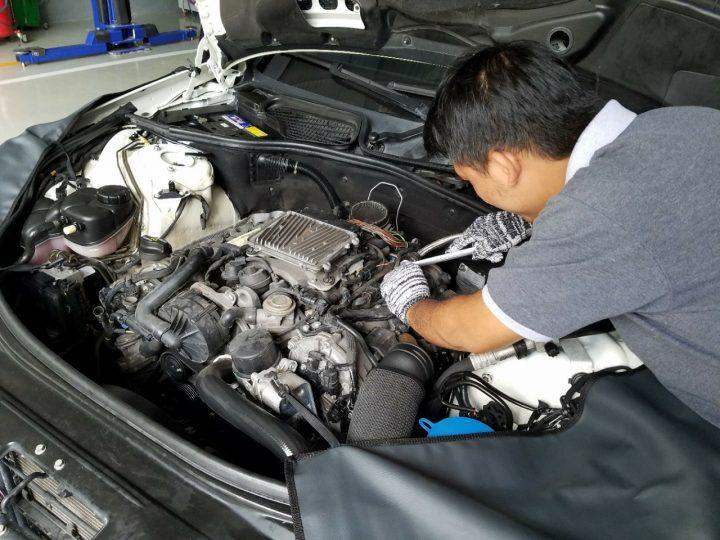 Sửa xe BMW 530 khi không khởi động được
